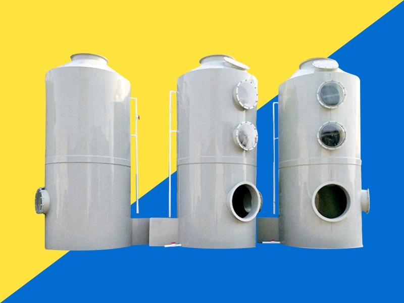 VOC废气处理之喷淋塔