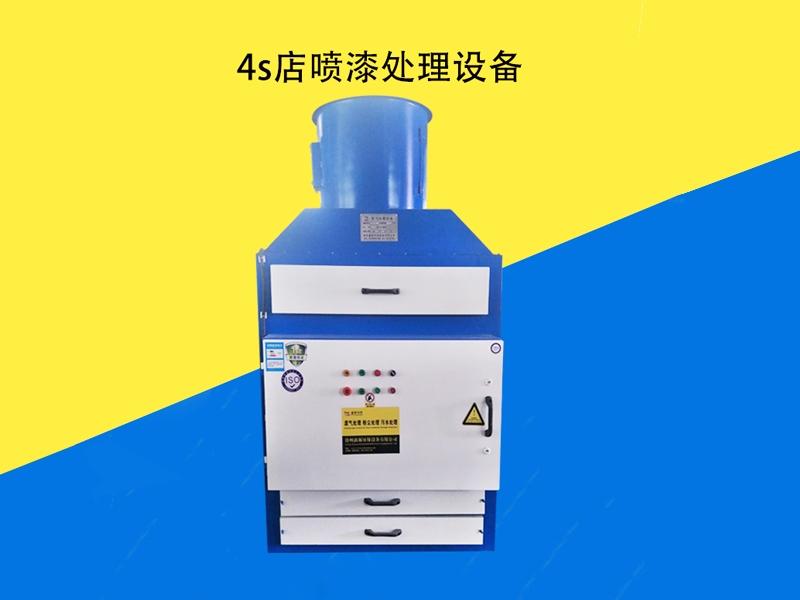 VOC废气处理之4s店喷漆处理设备